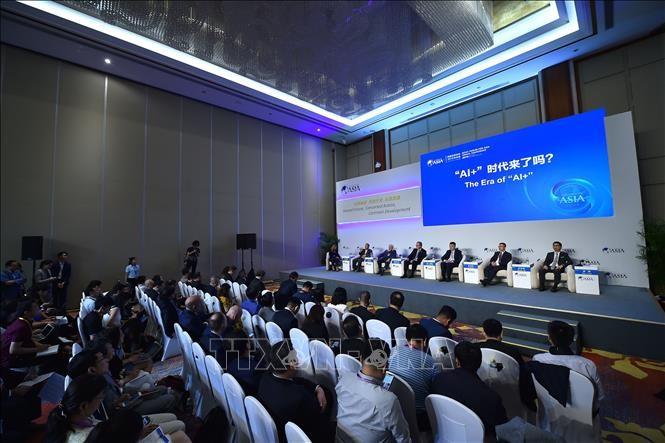 Asia berupaya mempertahankan laju pertumbuhan ekonomi - ảnh 1