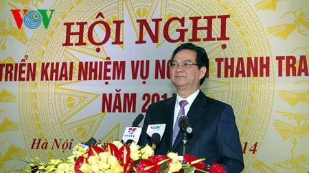 Strengthening anti-corruption inspection in 2014 - ảnh 1