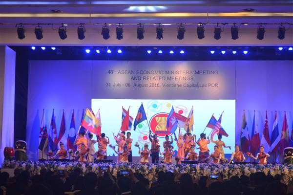 The 48th ASEAN Economic Ministers' Meeting opens in Laos - ảnh 1
