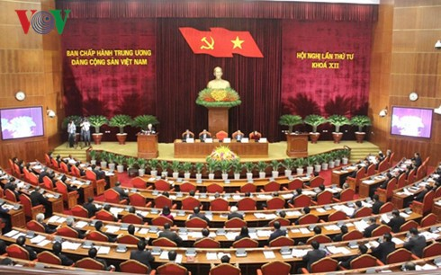 Party Central Committee meeting enters 3rd day - ảnh 1