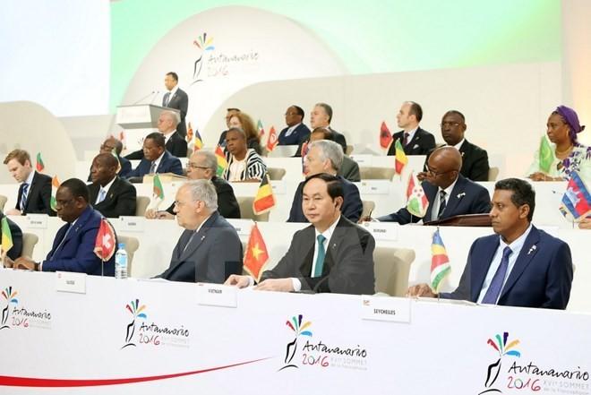 16th Francophone Summit closes - ảnh 1