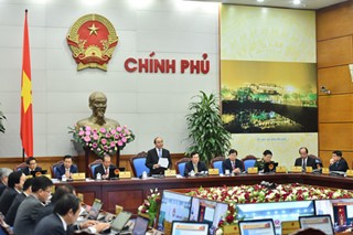 Meeting between government and localities  - ảnh 1
