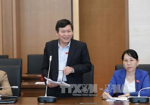 National Assembly's fulltime deputies conclude their meeting - ảnh 1