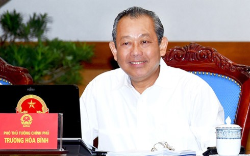 Deputy Prime Minister works on Dong Thap's socio-economic performance  - ảnh 1