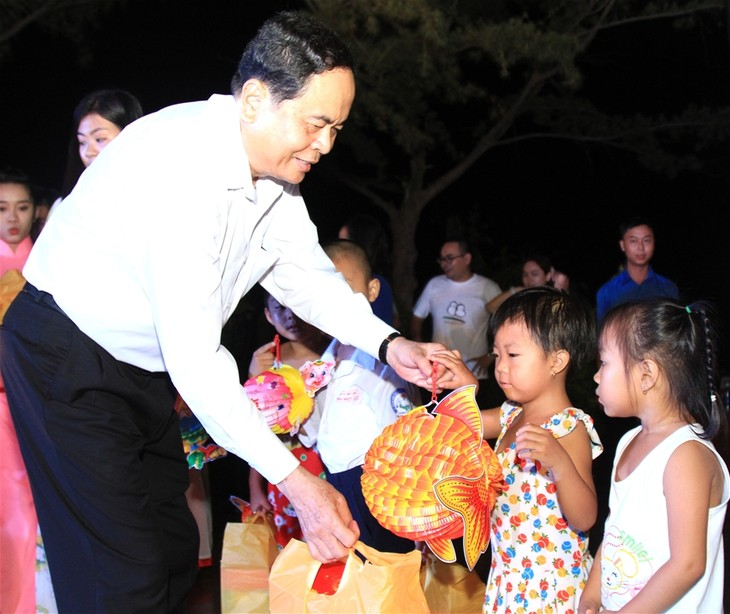 Vietnam Fatherland Front President works in Can Tho - ảnh 1