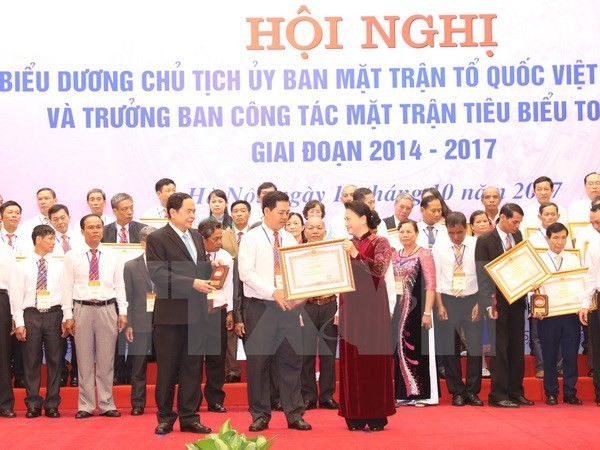 """NA Chairwoman: """"Front cadres are solidarity consolidators in residential areas"""" - ảnh 1"""