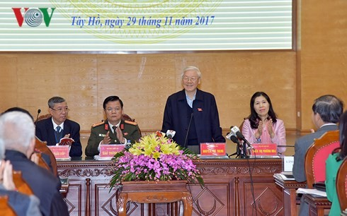 Party leader: The fight against corruption is carried out more systematically - ảnh 1