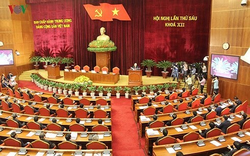 Party Central Committee opens 7th plenum  - ảnh 1