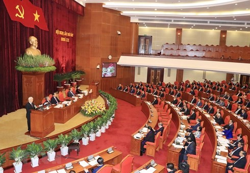 Party Central Committee's 7th plenum enters 5th day - ảnh 1