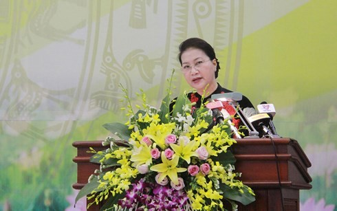 NA Chairwoman works with Vietnam Academy of Science and Technology  - ảnh 1