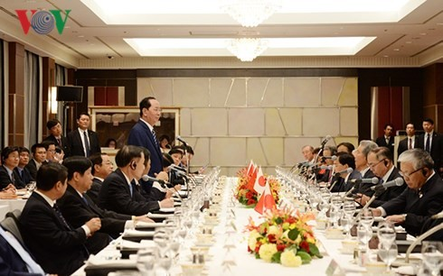 President Tran Dai Quang: Vietnam treasures ties with Japan  - ảnh 3
