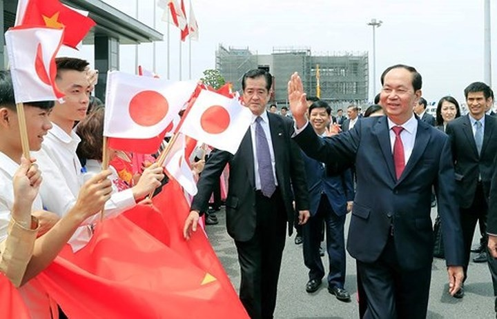 Japanese media covers President Tran Dai Quang's visit to Japan - ảnh 1