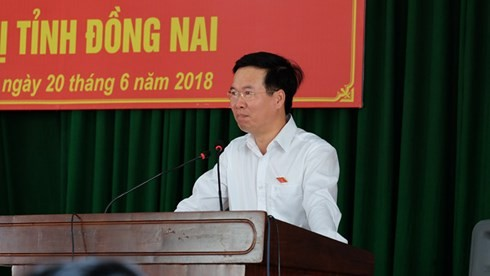 Senior Party official meets voters - ảnh 1