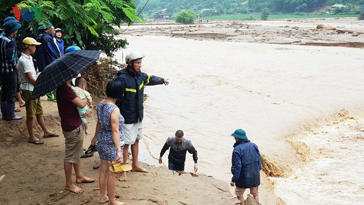 Localities fight torrential rains, floods  - ảnh 2