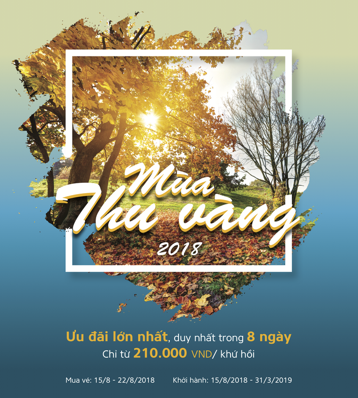 Vietnam Airlines launches autumn promotion program - ảnh 1