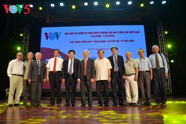 Veteran journalist Phan Quang, subject of new book - ảnh 3