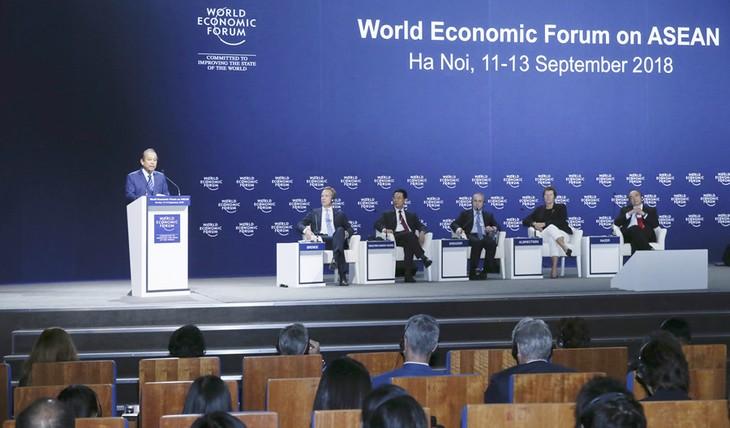 WEF ASEAN 2018 propels regional development prospects  - ảnh 1