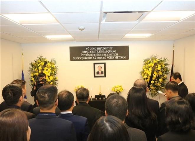 Vietnamese President remembered abroad  - ảnh 1