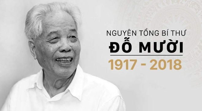 Special communiqué on former Party chief Do Muoi's passing  - ảnh 1