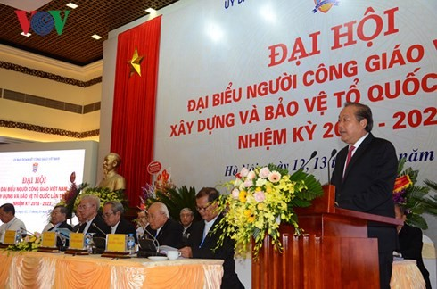 7th National Congress of Vietnamese Catholics opens  - ảnh 1