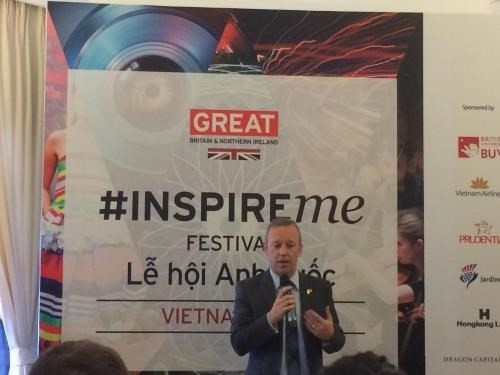 UK's Inspire Me Festival 2018 to be held for the first time in Hanoi - ảnh 1