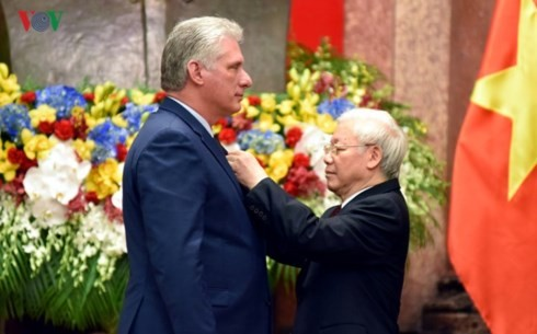 Cuban President highlights special relationship with Vietnam - ảnh 2
