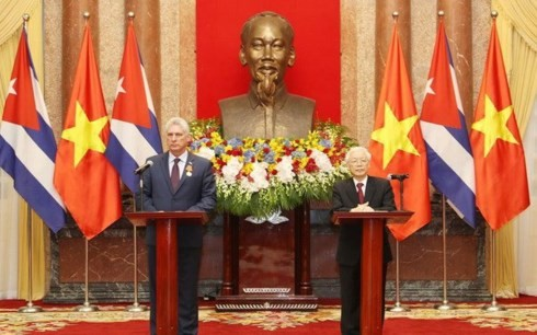 Cuban President highlights special relationship with Vietnam - ảnh 1