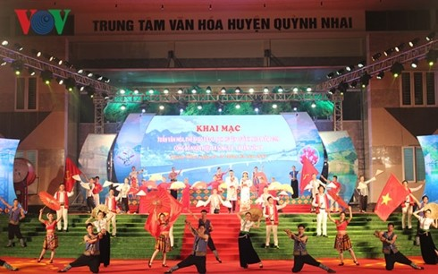 Culture, Sports, and Tourism Week enlivens Son La's Quynh Nhai district - ảnh 1