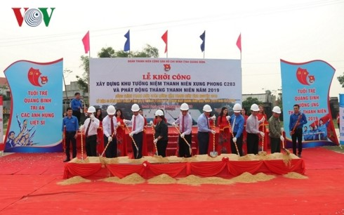 Monument of Vietnamese young volunteers to be built in Quang Binh  - ảnh 1
