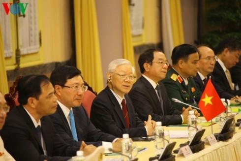 Vietnam, Brunei establish comprehensive partnership - ảnh 2