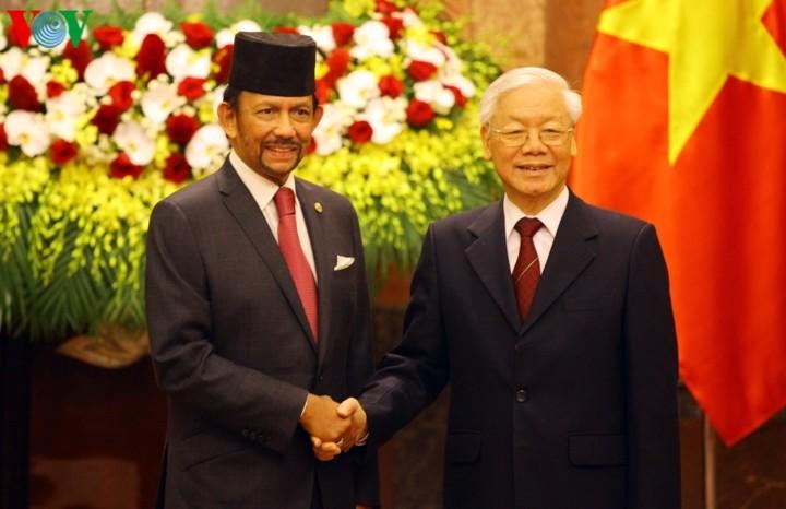 Joint statement on establishing Vietnam-Brunei comprehensive partnership  - ảnh 1