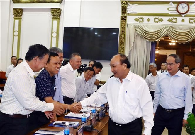 PM praises Ho Chi Minh City's strong Q1 performance  - ảnh 1