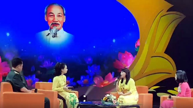 Exchange program promotes role model in following Ho Chi Minh's example - ảnh 1