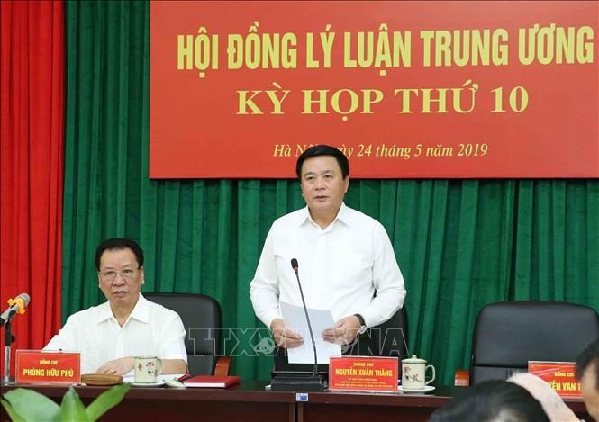 Central Theoretical Council discusses inputs for 13th National Party Congress  - ảnh 1