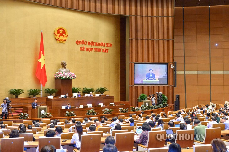 NA discusses revision to law on government and local administration organization - ảnh 1