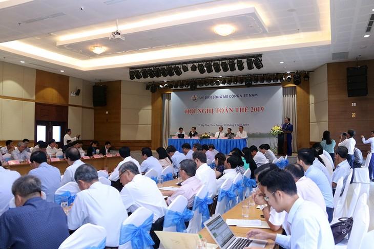 Vietnam Mekong River Commission's 1st plenary meeting - ảnh 1
