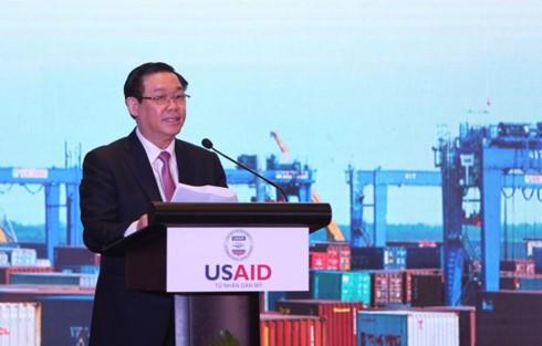 Vietnam, US launch 21 million USD project on trade facilitation  - ảnh 1