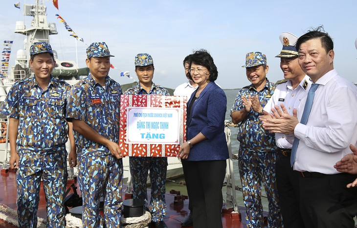 Vice President visits officers, soldiers of Naval Region 2 - ảnh 1