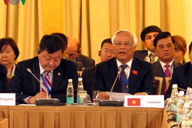 越南出席首届亚欧国家议长会议 - ảnh 1