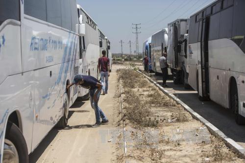 以色列在加沙地带外围修建隔离墙 - ảnh 1