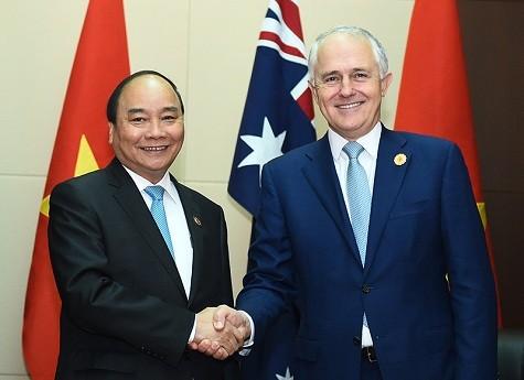 越南与澳大利亚所有领域关系日益向深度和广度发展  - ảnh 1