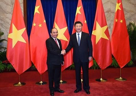 阮春福访华为两国经贸合作关系发展注入新动力 - ảnh 1