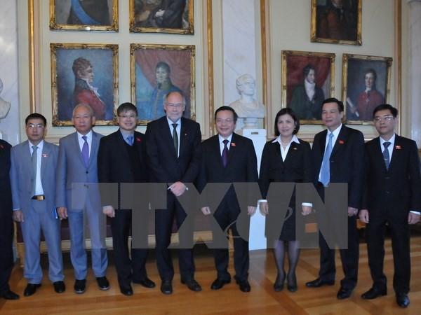 挪威国会支持发展与越南的关系 - ảnh 1