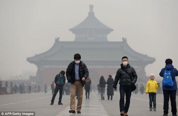北京空气污染依然是橙色预警  - ảnh 1