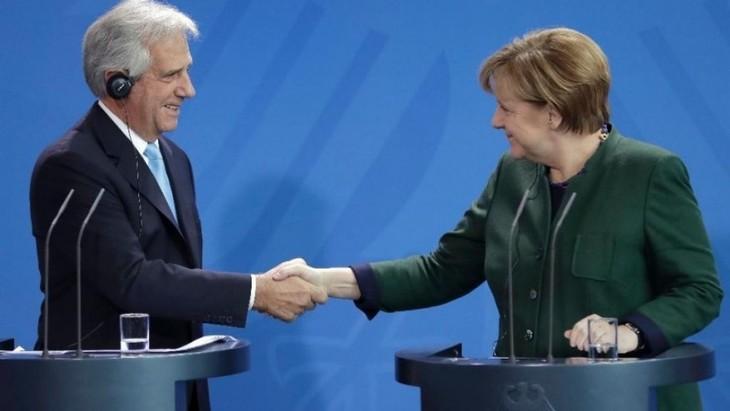 欧盟可以与其他国家启动贸易谈判以取代美国   - ảnh 1