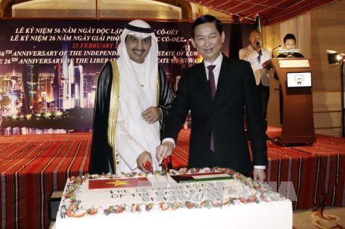 科威特国庆56周年纪念仪式在胡志明市举行   - ảnh 1