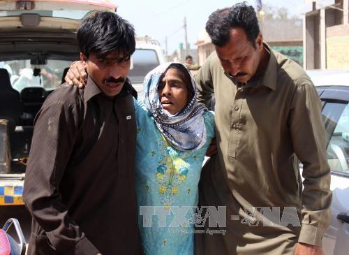 巴基斯坦:一宗教场所发生谋杀事件 20人死亡 - ảnh 1