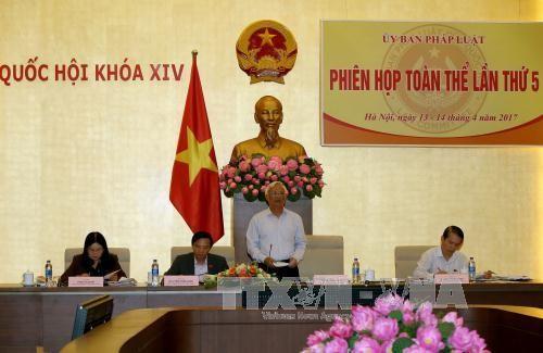 越南国会法律委员会第5次全体会议举行  - ảnh 1