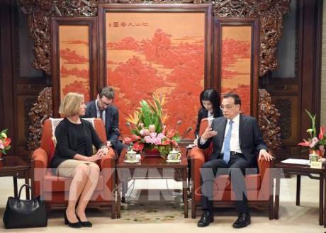 中国和欧盟在北京举行战略对话   - ảnh 1