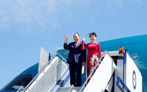 越南政府总理阮春福访问澳大利亚的正式欢迎仪式举行  - ảnh 1